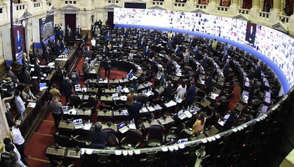 sesion de diputados