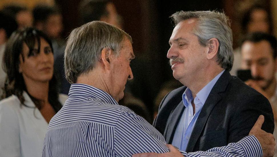 Alberto Fernández dijo que Schiaretti se comprometió a apoyarlo en caso de que gane