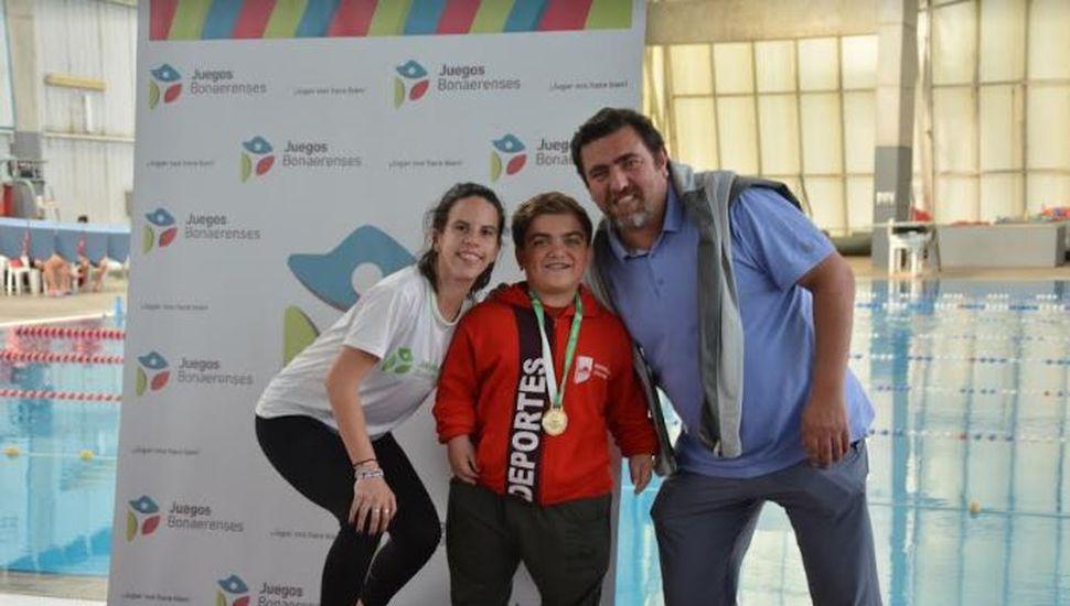 Juegos Bonaerenses 2019: Llegó el oro para Chacabuco