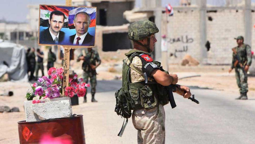 """""""Liberar todo el territorio"""" el objetivo sirio de batalla"""