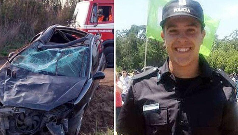 Rodrigo Daniel Bona perdió la vida en el lugar del siniestro.
