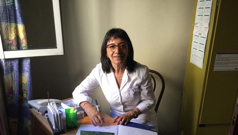 Raquel Perdomo, jefa de enfermería del Higa.