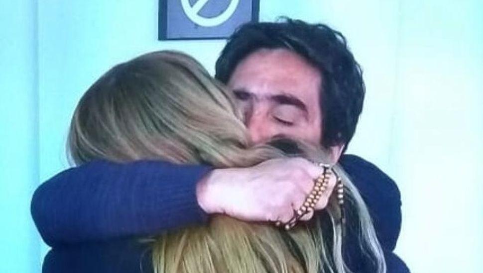 Hugo Martínez y la fiscal Vanina Lisazo.