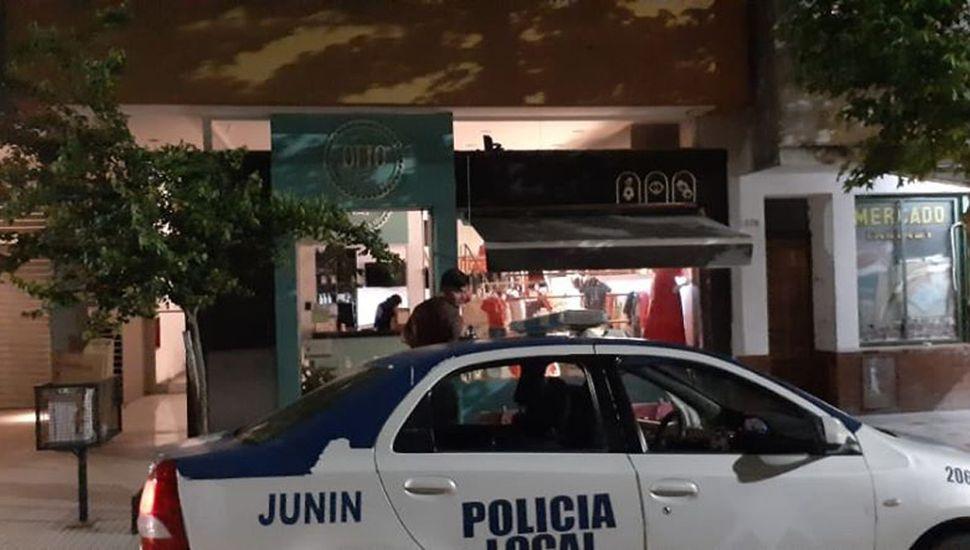 Policía Local intervino en el comercio de General Paz.