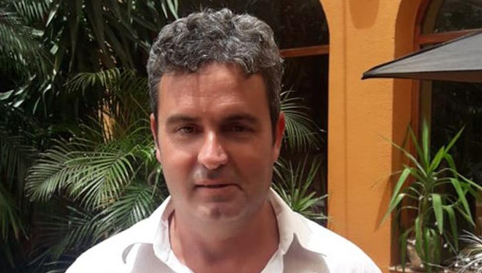 Gustavo Frederking, presidente de la Sociedad Rural de Junín.