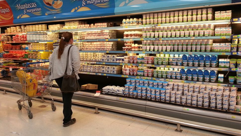 Inflación de 4,3% impulsada por alimentos y bebidas