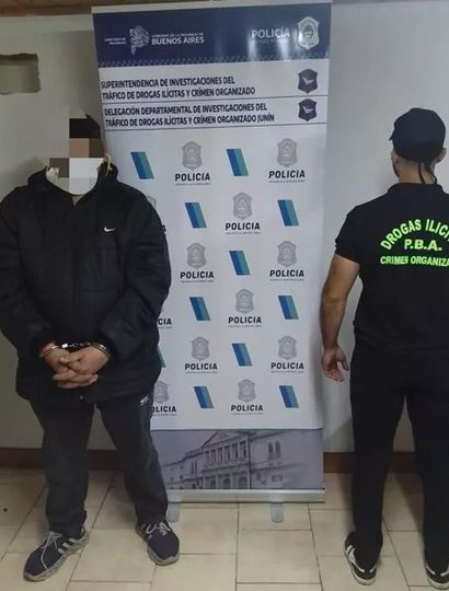 La Delegación Departamental de Investigaciones del Tráfico de Drogas Ilícitas y Crimen Organizado, llevó adelante un operativo en el que secuestró drogas y armamento, hay un detenido.
