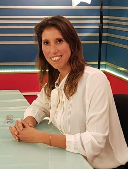 Victoria Muffarotto, precandidata a intendenta de Junín.