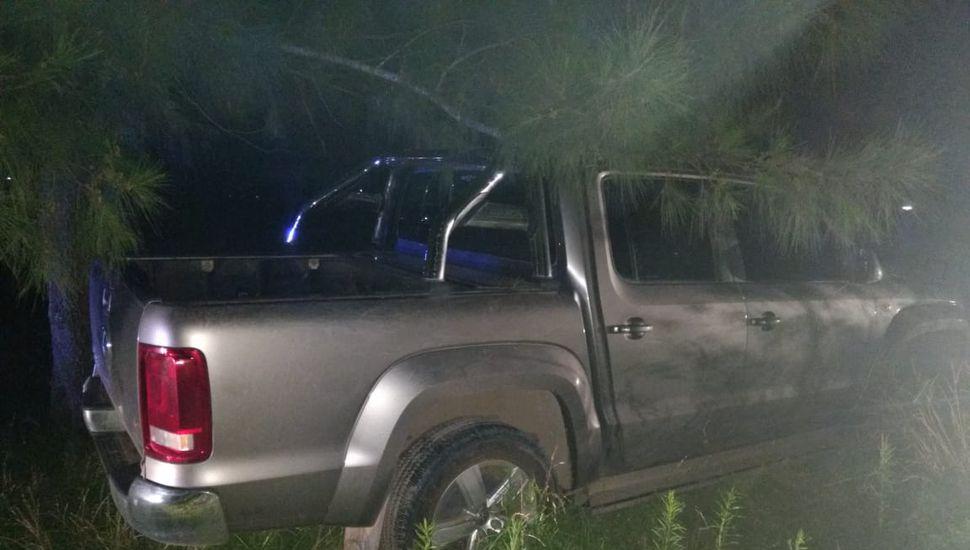 URGENTE: Encuentran la camioneta Amarok que fue robada en una casa del Cerrito Colorado