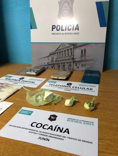 Golpe al narcomenudeo en Junín: incautaron cocaína de máxima pureza