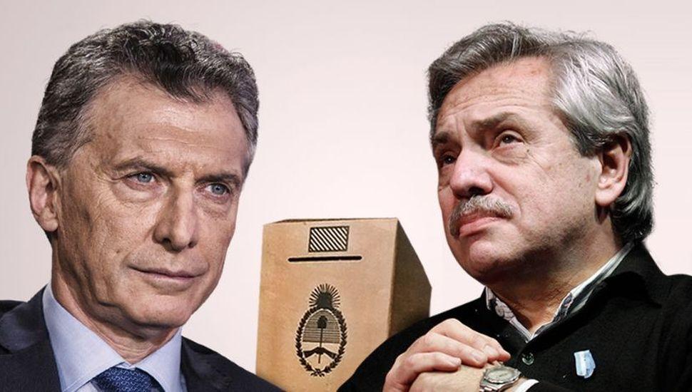 Macri y Alberto Fernández, complicados por efecto de una transición anticipada