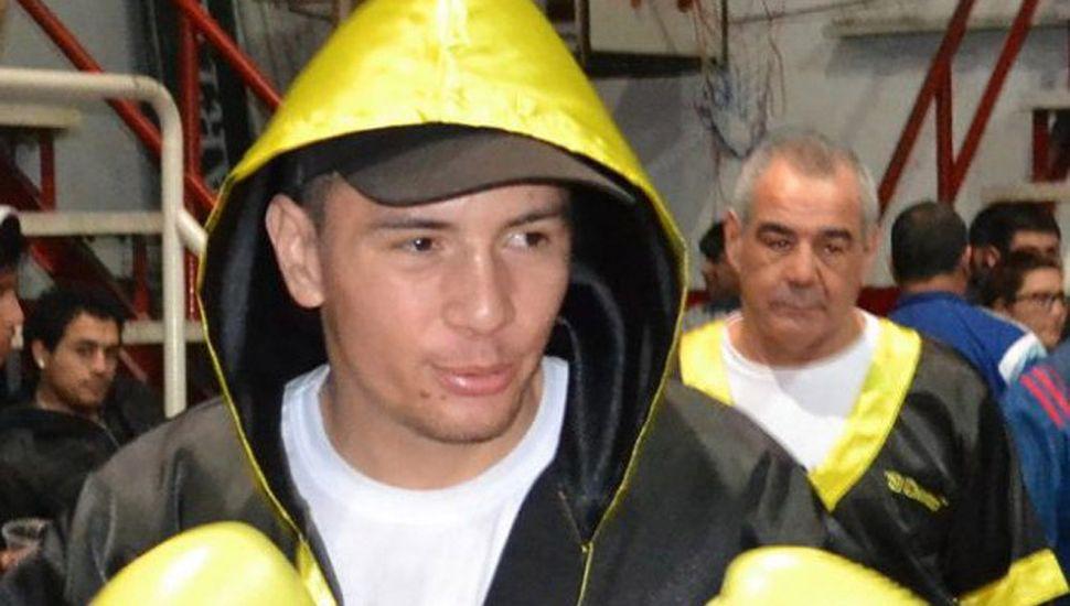 """José """"Chinito""""Acevedo peleará ante su público y el sábado en San Francisco, Córdoba."""
