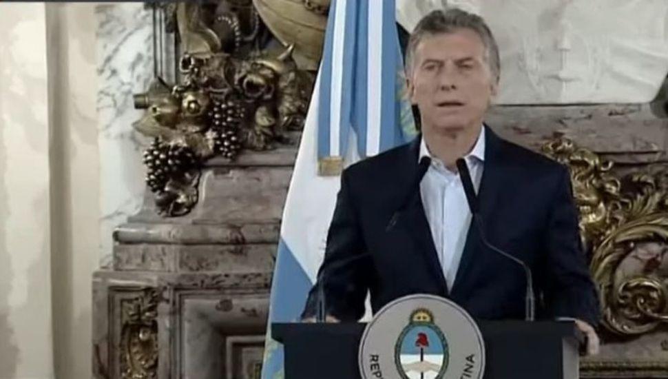 """Mauricio Macri: """"Los actos violentos no fueron espontáneos"""""""