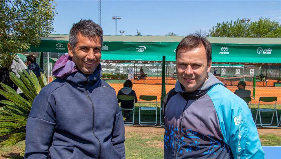 Leandro Verón y Daniel Pueyo.