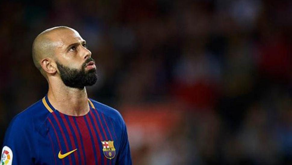 Barcelona liberó a Javier Mascherano para que se vaya a China