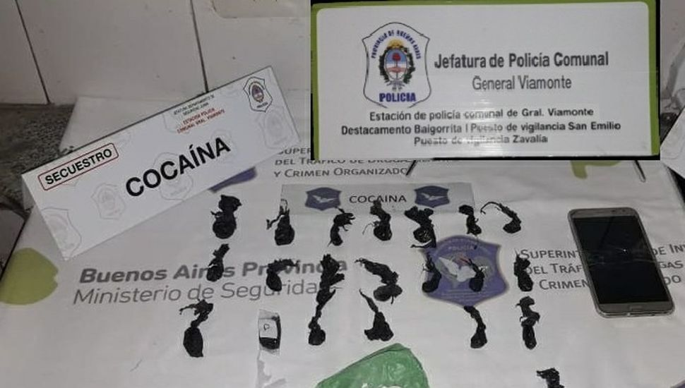 Secuestraron cocaína y marihuana: dos detenidos