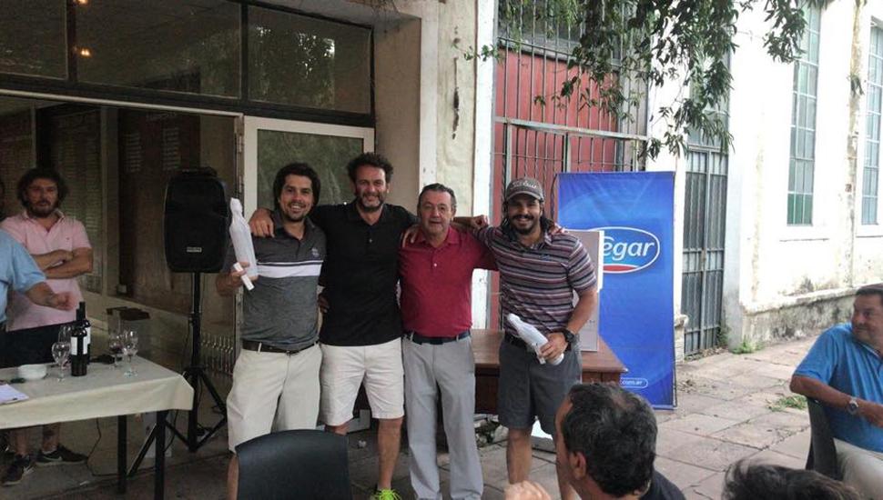 >Martín y Juan Ignacio Rodríguez fueron los ganadores con 61 golpes.