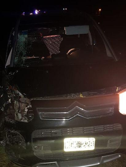Una mujer perdió la vida hoy en la Ruta 7 a la altura de Saforcada