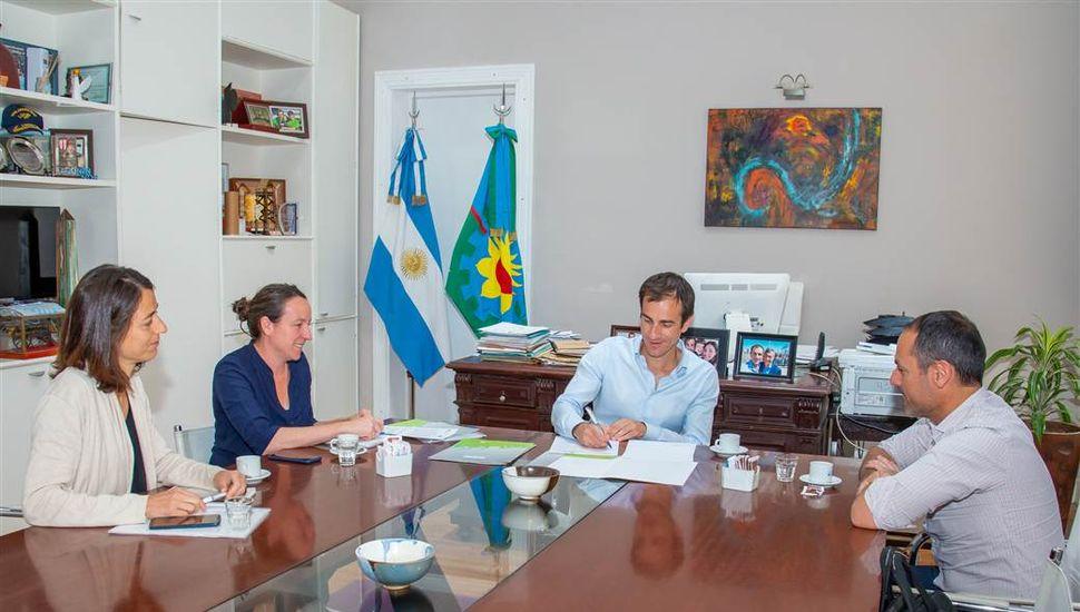 La CIC cooperará con Junín en el combate contra el barigüí