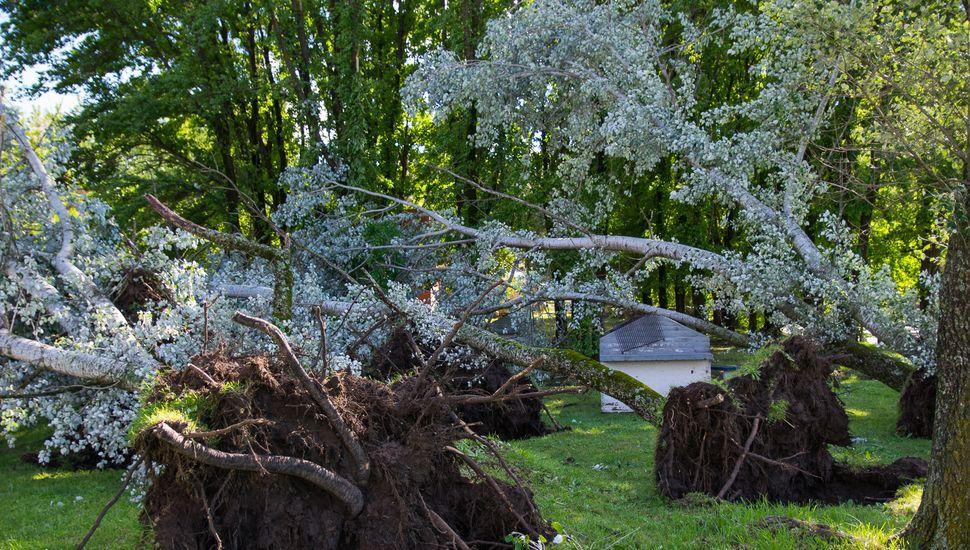 Tras la tormenta, el balneario permanecerá cerrado