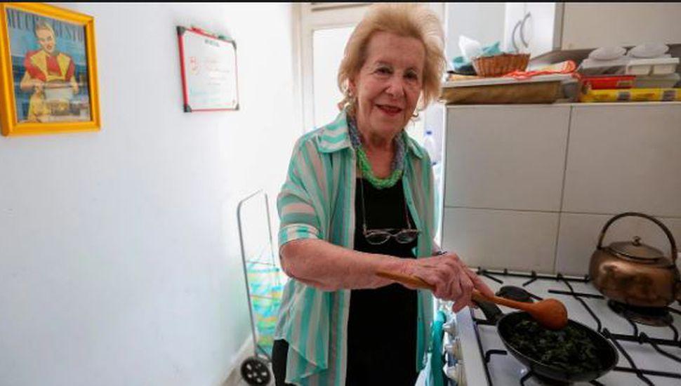 A los 91 años, murió la cocinera Choly Berreteaga