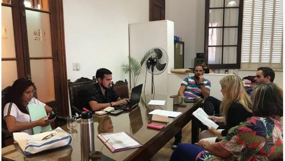 Arenales: coordinadores de cultura y deportes visitaron el distrito