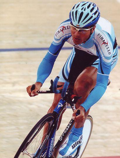 El recordado pedalista juninense, Sebastián Manuel Cancio.