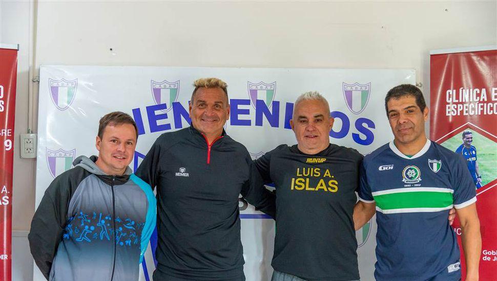 Daniel Pueyo, Daniel Islas, Juan Barragán y Hugo Herrera.