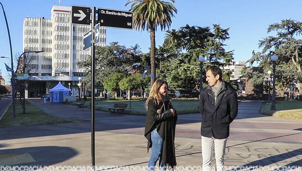 Los nomencladores se colocarán en todas las arterias de la ciudad y en las localidades del partido de Junín.
