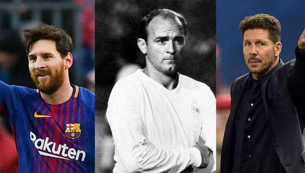 Los tres argentinos que establecieron un  antes y un después en el fútbol español