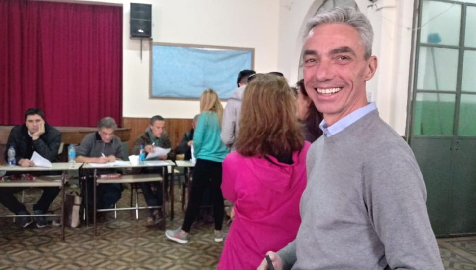 Votó Mario Meoni