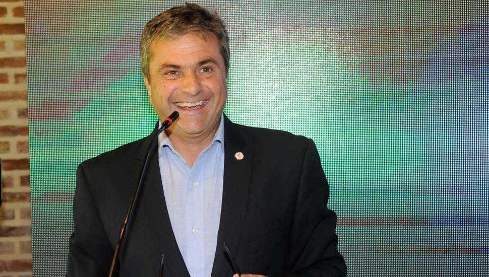 Daniel Di Palma, presidente del Colegio de Martilleros de Junín.