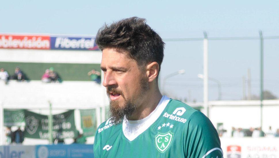 Federico Vismara, uno de los jugadores de Sarmiento cuyo contrato vence hoy.