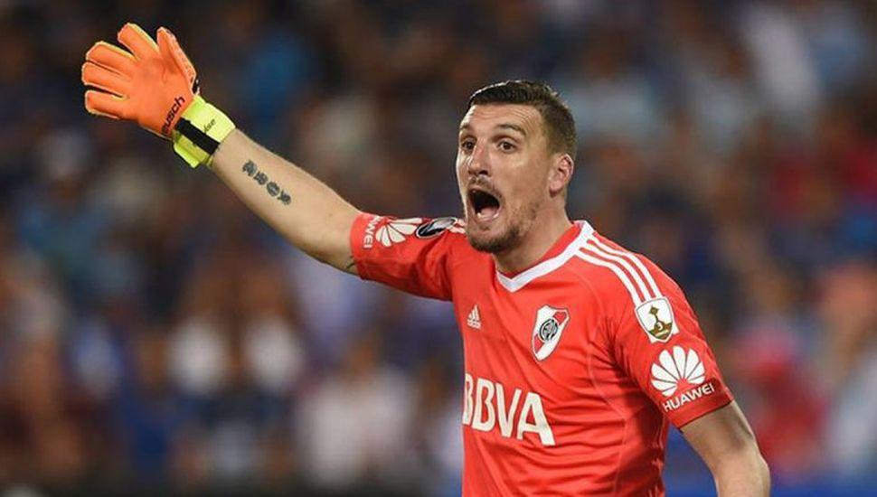 Armani, a poco de quebrar un récord histórico de Carrizo