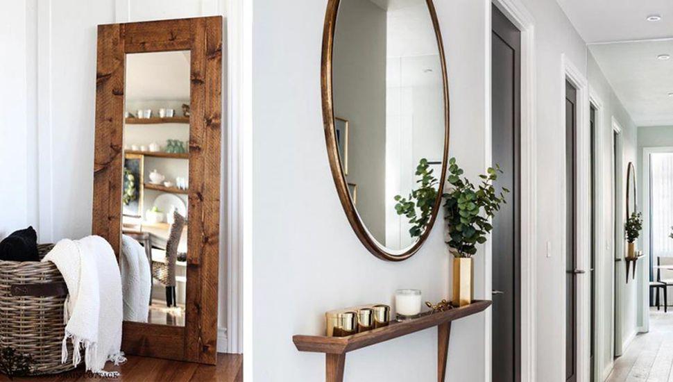 Obras y objetos de arte, beneficiados con los espejos.