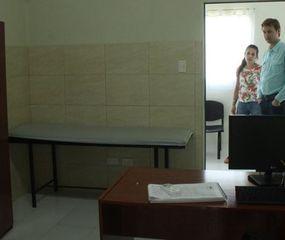 Vedia: comenzó a llegar el equipamiento para el CIC