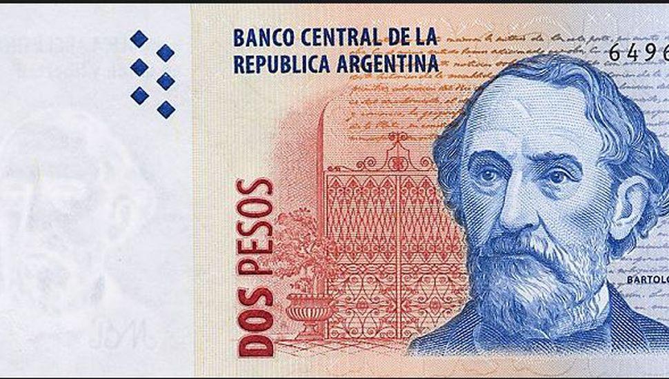 Confirmaron cuándo saldrán de circulación los billetes de dos pesos