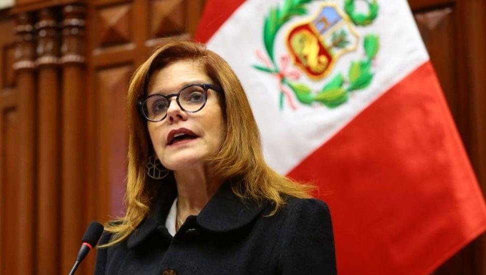 El gobierno de Perú desconoce la renuncia de la vice Mercedes Aráoz