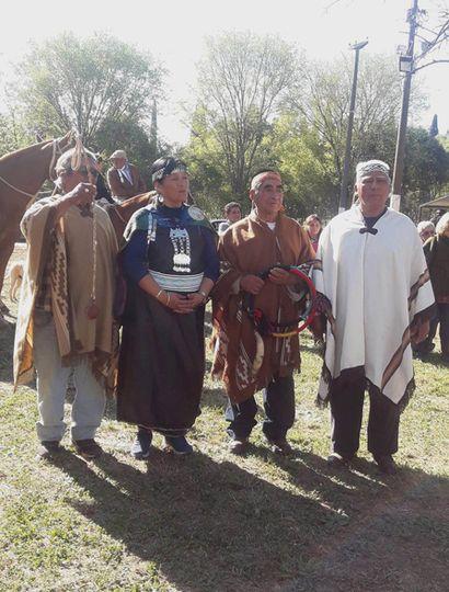 Mapuches convocados al festival.