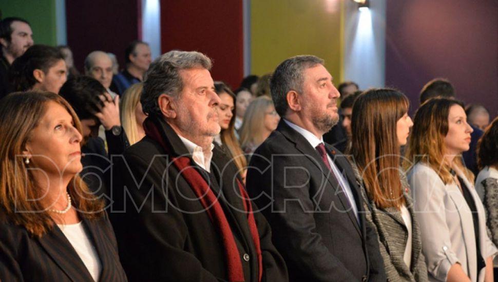 Jorge Elustondo fue invitado por Tamarit al acto Centenario de la Reforma Universitaria.