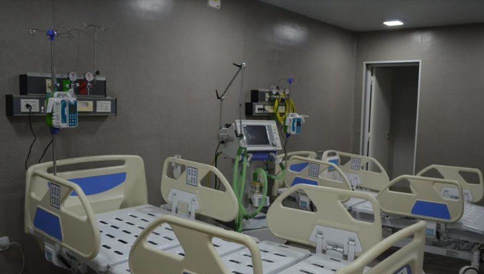 Comenzó a funcionar la nueva sala de terapia intensiva en el hospital de Arenales