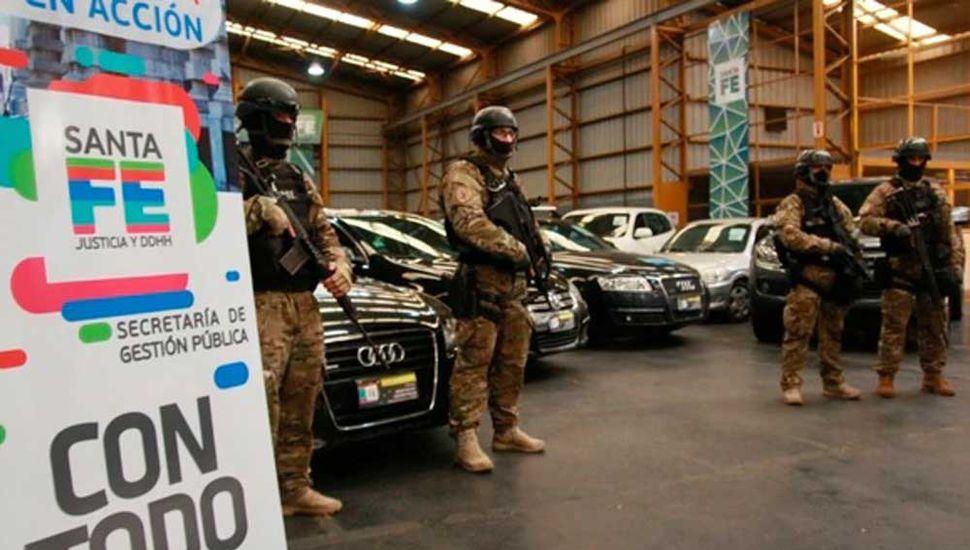 Subastarán 20 autos que les fueron secuestrados  a bandas delictivas