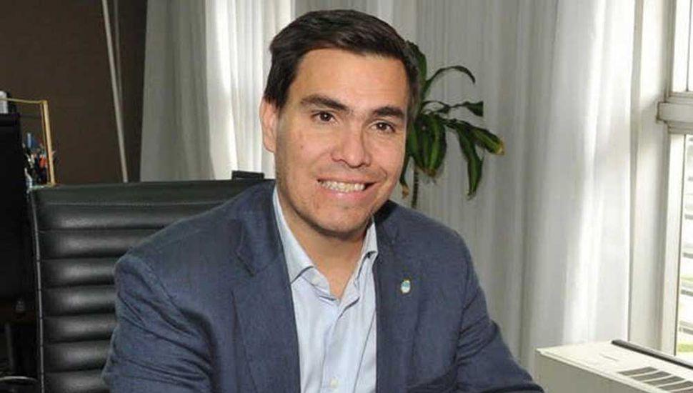 Javier Tizado, ministro de Producción.