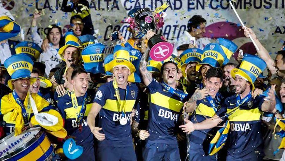 Boca fue bicampeón de la Superliga.
