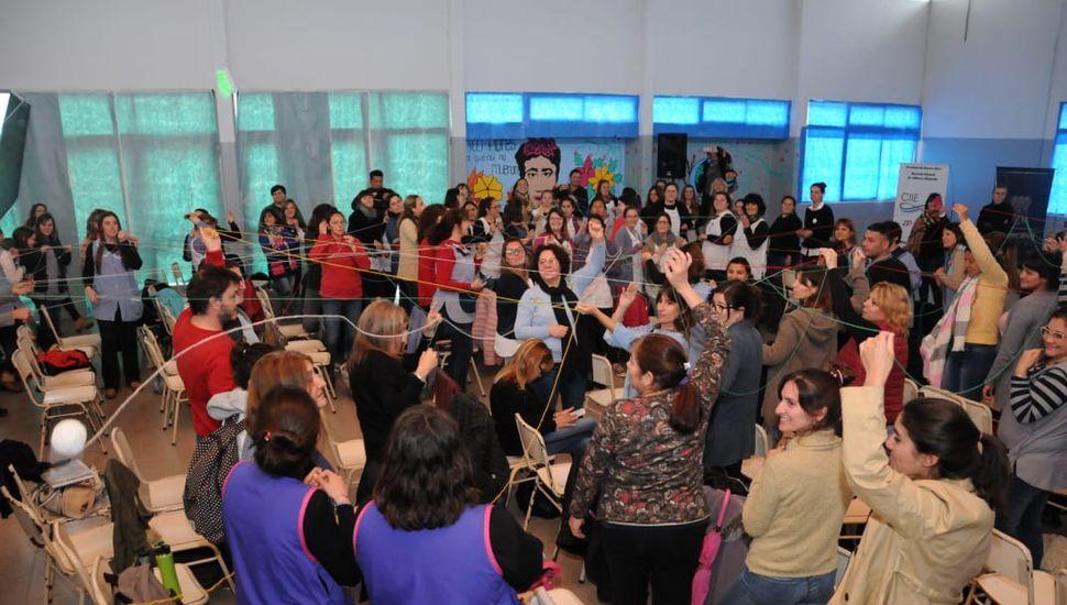 Roberto Rosler brindó una charla de educación inclusiva en Rojas
