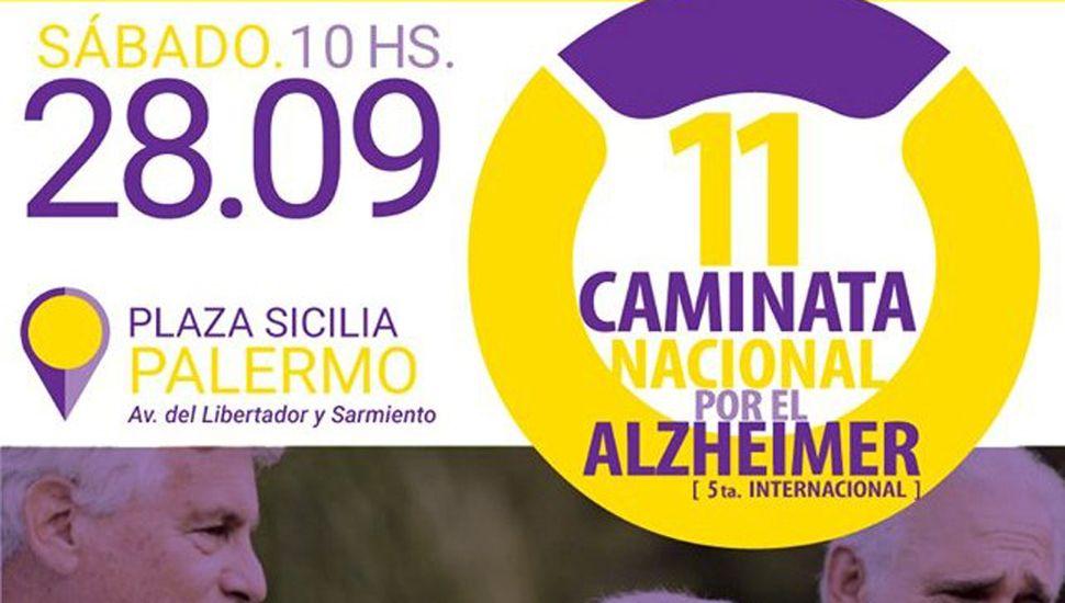 """Nueva edición de la """"Caminata por el Alzheimer"""""""