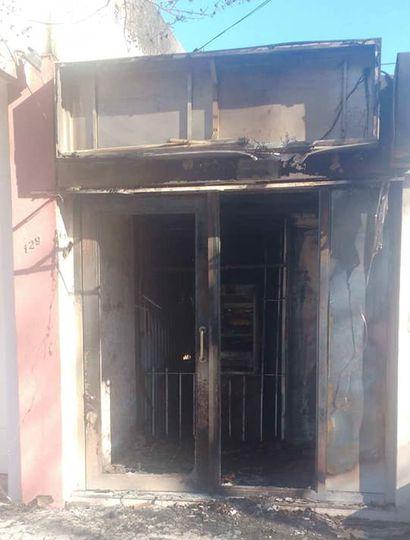Roban e incendian un cajero automático en El Triunfo