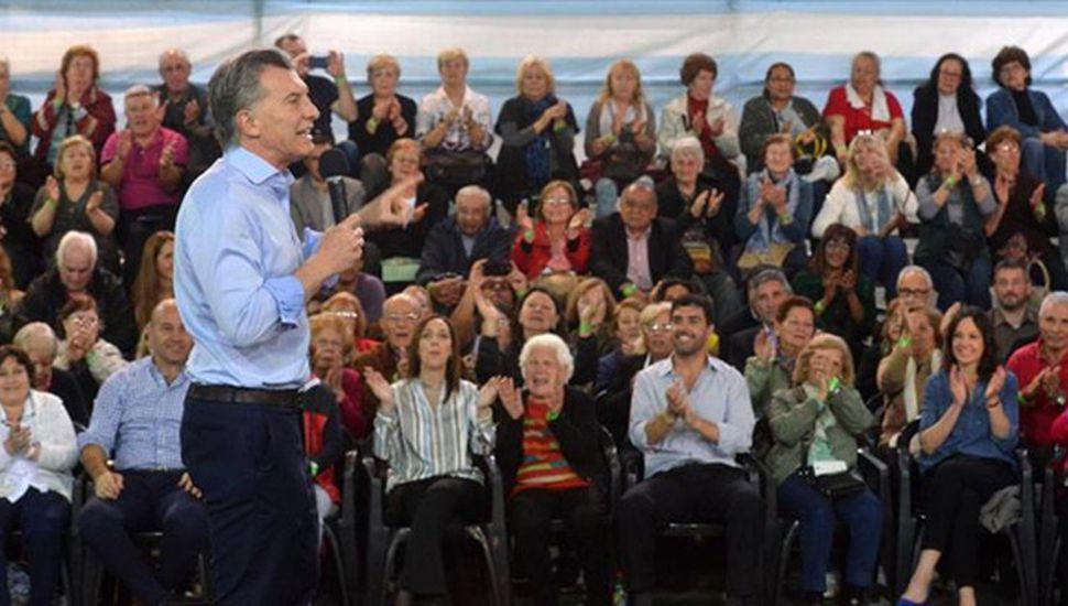 """Macri llamó a seguir cambiando la  historia """"Podemos hacer mejores cosas"""""""