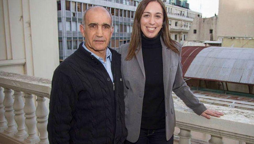 María Eugenia Vidal repite la fórmula con Daniel Salvador.