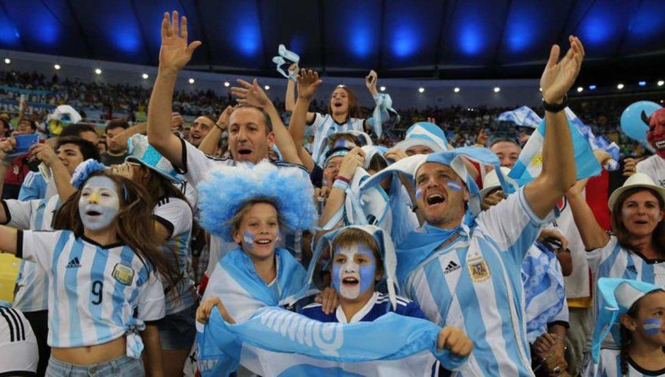 Después de Rusia, Argentina es el país con más entradas